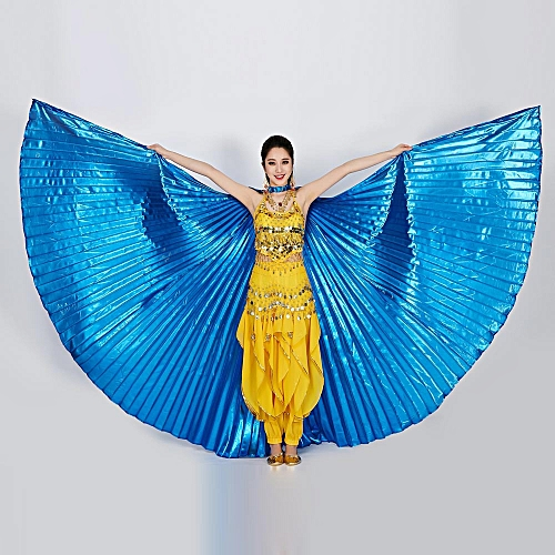 Nxioasd Shop Egypt Belly Wings Dancing Costume Belly Dance Accessories No Sticks