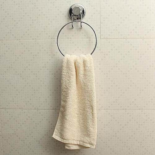 Bathroom Powerful Vacuum Suction Cup Stainless Steel Towel Racks Towel Rings