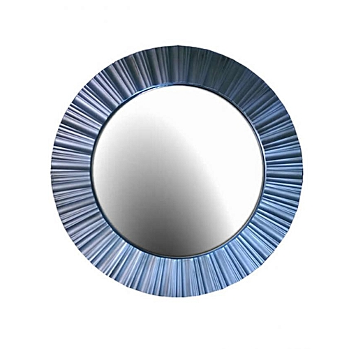 Stripe Round Wall Mirror