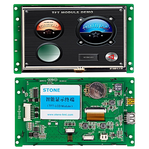 """5.0""""Color TFT LCD Display Module With Control Board"""