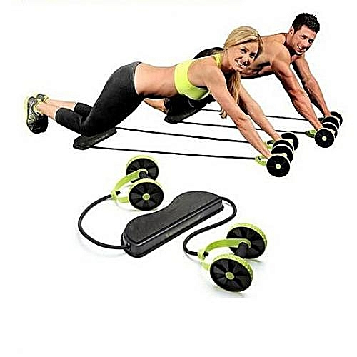 Xtreme Workout Bi-directional Abs Wheel - Green