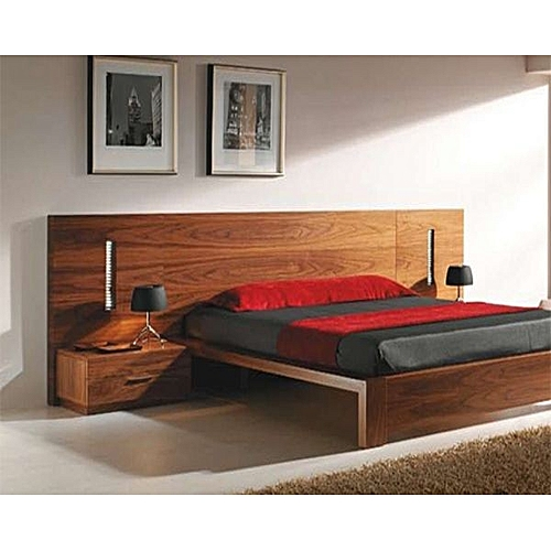 Bed Frame- Brown (HOME DELIVERY WITHIN LAGOS AND ABUJA ONLY. SELF PICK UP AT OTHER STATES)