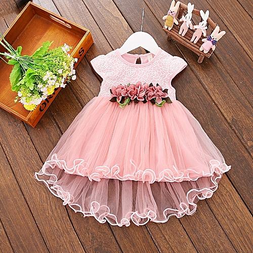 Baby Girls Summer Dress Pink
