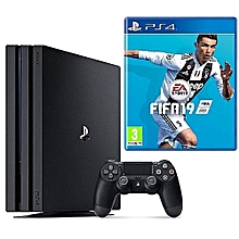 ac0435f75ab PS4 PRO 1TB Console Playstation 4 + Fifa 19 CD