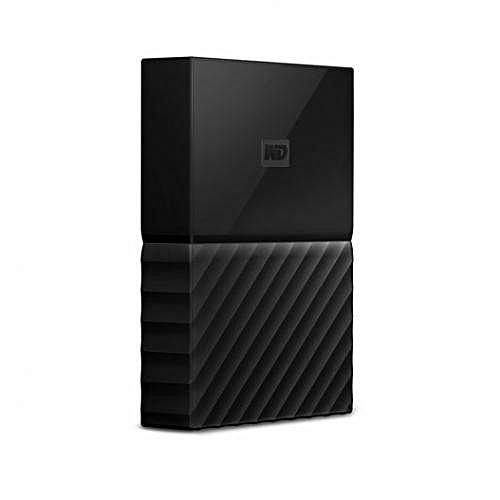 4TB External Hard Drive- Black