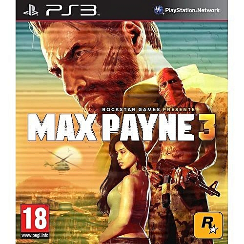 Max Payne 3 (PS3) By Rockstar