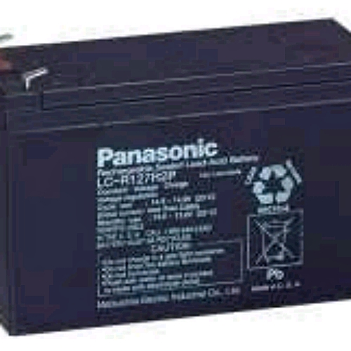 Sealed Rechargeable Battery - 7.2AH - 12V0