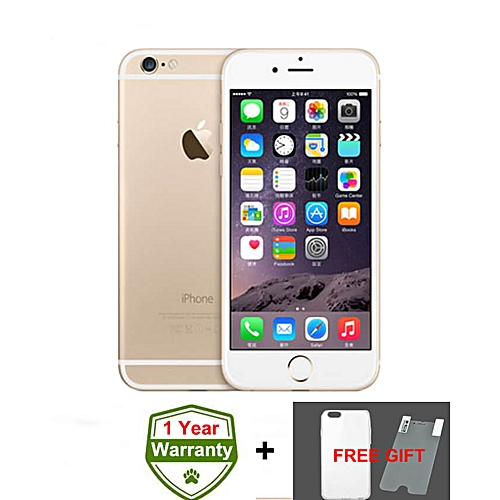 IPhone 6 4.7 Inch 1GB + 16GB 8MP + 1.2MP Finger Sensor 4G LTE Smartphone (Gift) – Gold