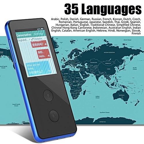 Simultaneous Translating Voice Translator Precise Noise Cancelling Multilingual Translator