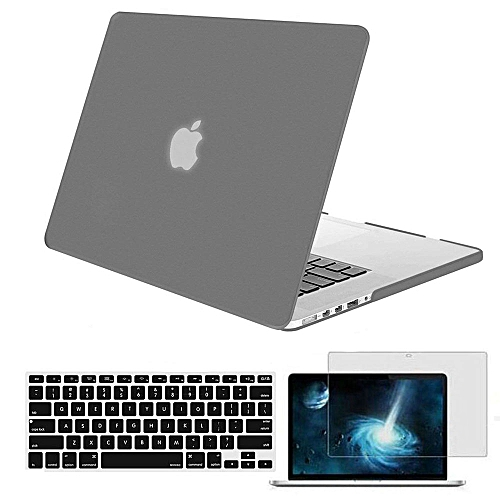 wholesale dealer 00c77 f73e5 Plastic Hard Case Shell With Screen Protector For MacBook Pro 13 Retina  2014 2015 2016 A1425/A1502 + US Layout Keyboard Cover