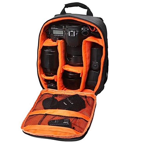 Camera Bag Backpack Waterproof DSLR Case With Carabiner For Canon OR
