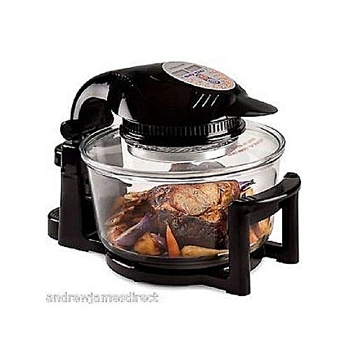 Digital Halogen Oven Air Fryer- Black