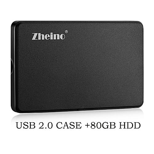 Zheino Zheino 2.5 Inch 80gb hdd Portable External Hard Drive For pc Laptop Desktop