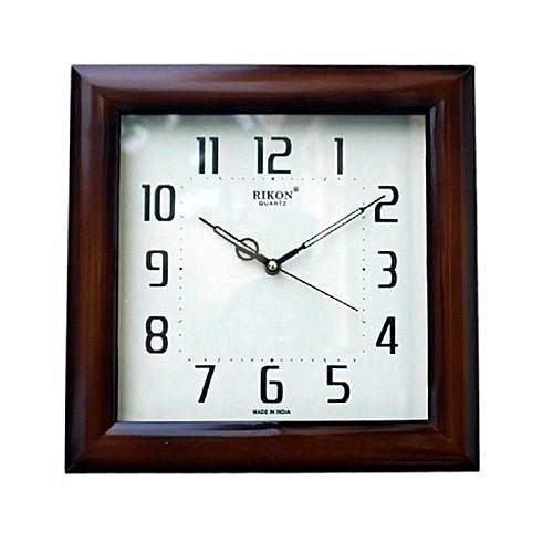 Square Quartz Wall Clock