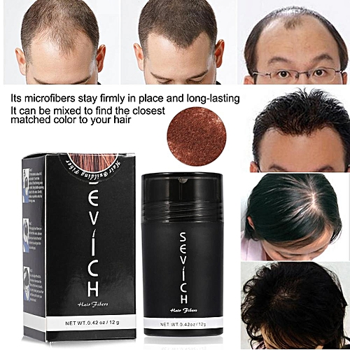 Hair Building Fiber Hair Thickener Hair Loss Solution Concealer Hair Fuller Denser Auburn