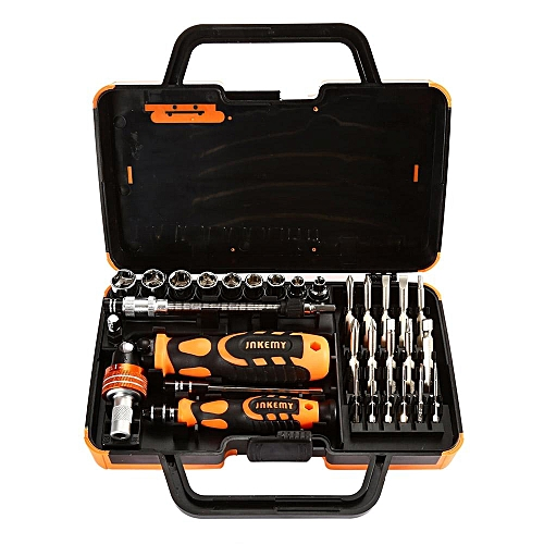JAKEMY JM-6121 31 In 1 Screwdriver Kit Disassemble Tool Professional Precision Screwdriver Set For Electronics Repairing