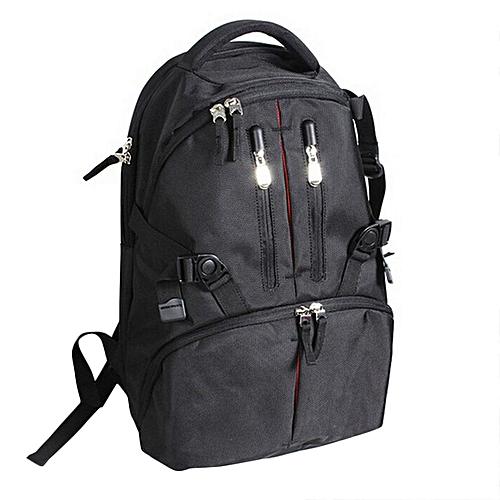 Waterproof Shockproof Digital SLR DSLR Camera Bag Soft Padded Backpack