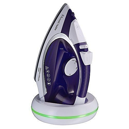 Rechargeable Cordless Steam Iron - 5 Seconds Fast Recharge