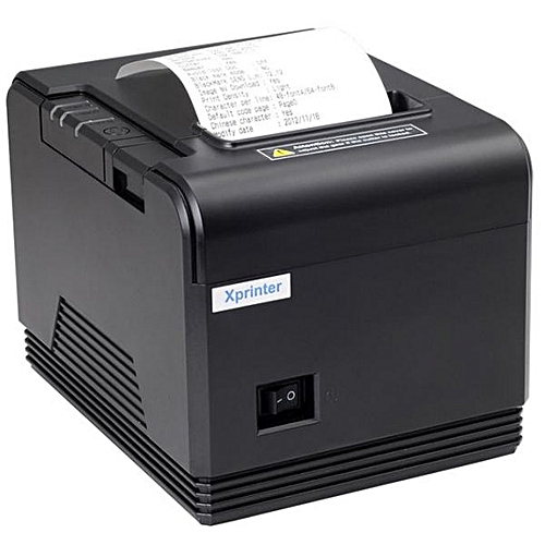 80mm Receipt Thermal Printer With Auto Cutter