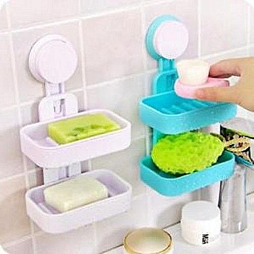 Double Layer Of Soap Holder