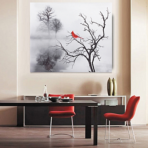 Bird Print Canvas Painting Picture Wall Art Decor No Frame