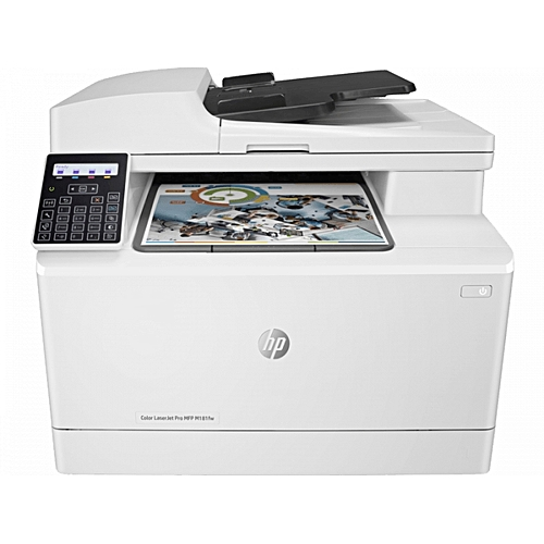 Color LaserJet Pro MFP M181fw Fax - Wireless All In One Office - Business Printer