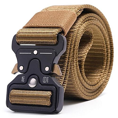 Nylon Outdoor Training Belt-Khaki