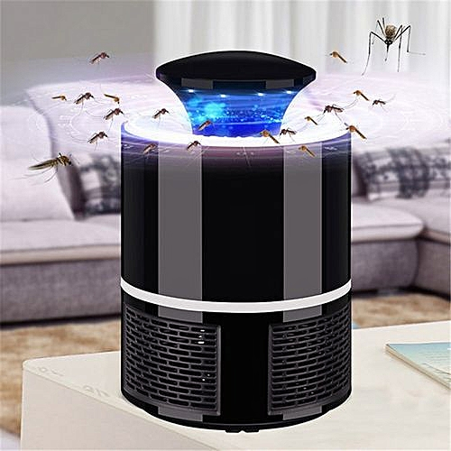USB Electric Mosquito Killer Lamp - Black