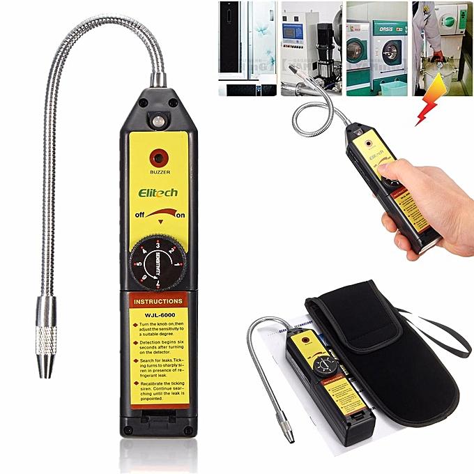 Refrigerant Leak Detector Halogen R134a R410a R22a Air Condition HVAC Checker