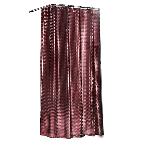 Shower Curtain (180 By 200cm) - Chocolate