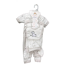 0c7a157b8 8pc-Unisex New Born Baby Cotton Wears+Free Angel Cutting Bud