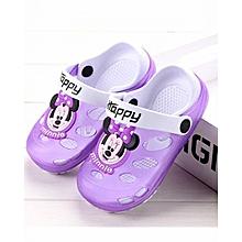 581c928a4 Kids Cartoon Sandals Children Slippers Soft Sole Flip Flops Non-slip Hollow  Beach Shoes Outdoor
