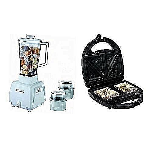3 In 1 Blender Plus Toaster