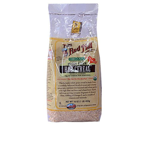 Bob's Red Mill Organic Whole Grain High Fiber Hot Cereal ...