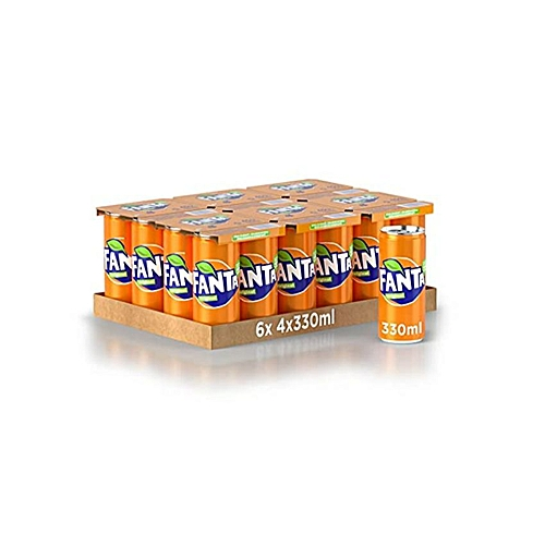 Orange 33cl CAN Drink X 24 Pcs In A Pack