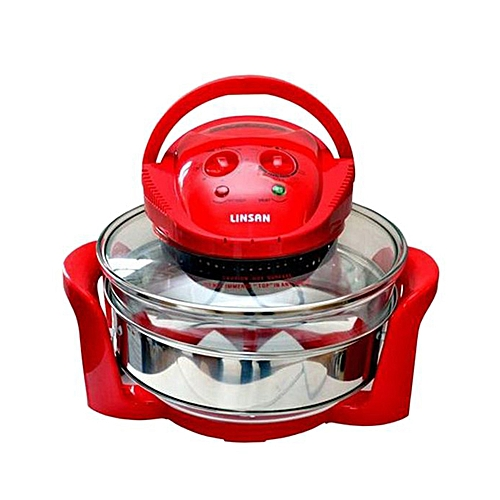 Halogen Oven LIN-801 - Red
