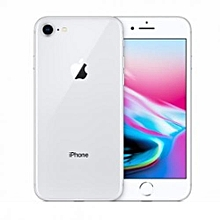 IPhone 8 4.7-Inch HD (2GB,256GB ROM) IOS 11, 12MP + 7MP 4G Smartphone - Silver (+ 2 Year Warranty)
