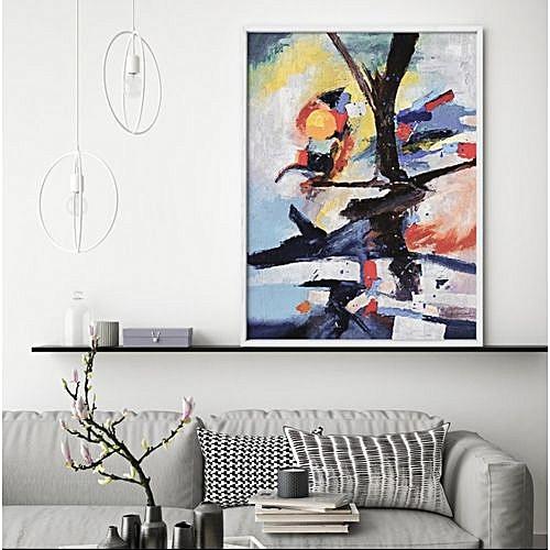 Wall Art - Abstract Bird Poster A