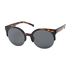 f277111d6ac9 Vintage Sunglasses Cat Eye Semi-Rim Round Sunglasses For Men Women Sun  Glasses