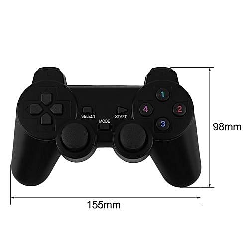 Generic 2x 2.4g usb Wireless Dual Vibration Gamepad Controller Joystick For pc Laptop