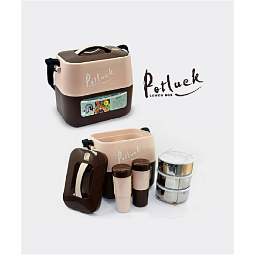 Lunch Box Food Flask For Home Office Use
