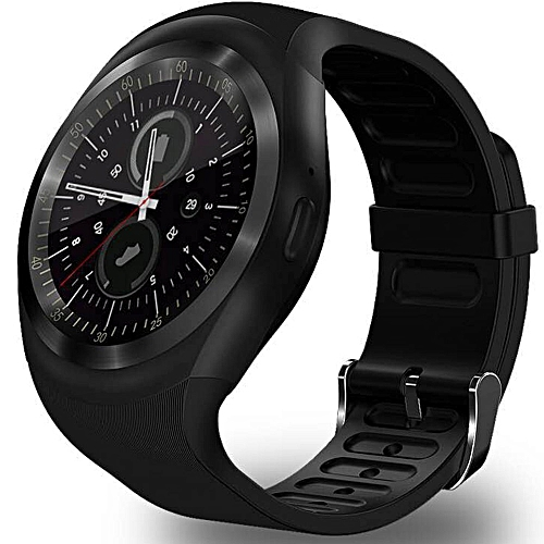 1a052abe1bb5 Generic D08 Smartwatch Sports Waterproof Bluetooth Smart Watch For Android  Smart Wristwatch(Black)