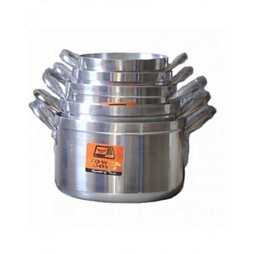 Cooking Pot Set - Tower Trim 5Pcs