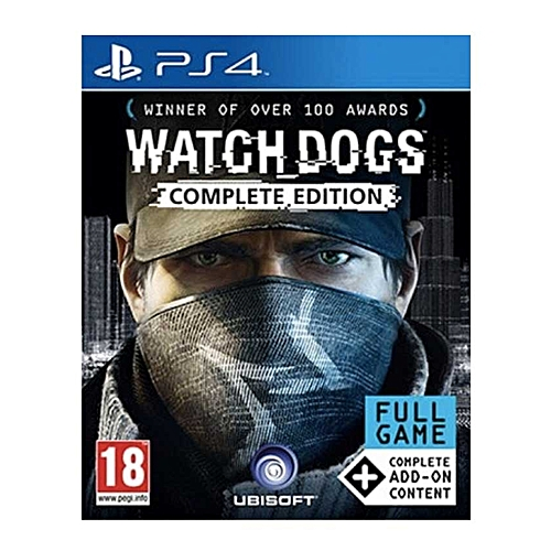 Watch Dogs: Complete Edition - PS4