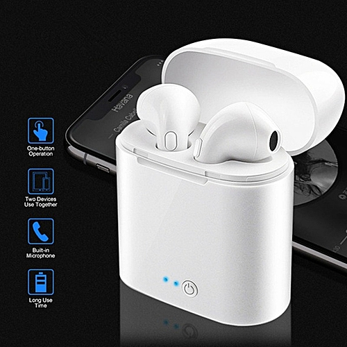 I7s TWS Mini Wireless Bluetooth Earphone Stereo Earbud Headset Ear Air Pods With Charging Box Mic For All Phone For Iphone