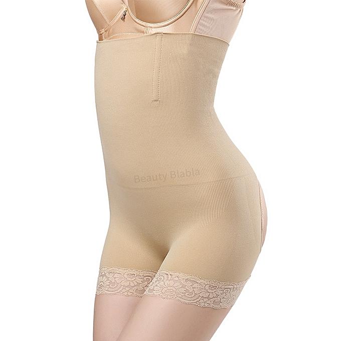 bd84a1f4b1 ... Seamless High Waist Tummy Slimming Pants Sexy Butt Lifter Control  Panties Women Waist Trainer Body Shapers ...