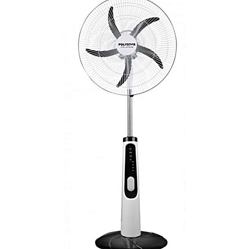 "21""Rechargeable Standing Fan With Remote Control"