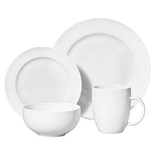 Dinner Set (16 Pieces) - White