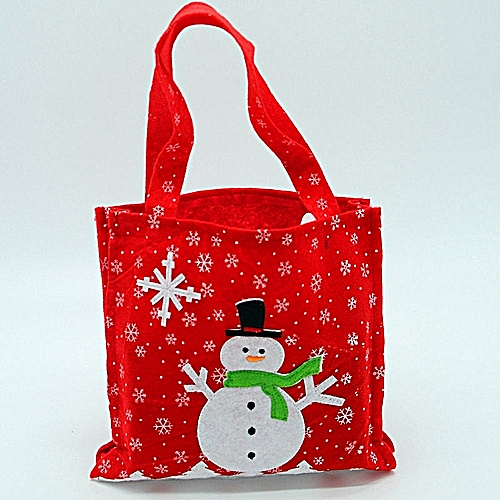 Christmas Embroidered Gift Bag Decorative Gift Bag For Candy Gift Bag