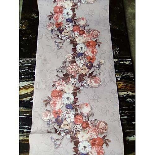Flower Design Wallpaper - 5.3 SQM
